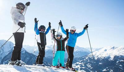 skigebieden voor families