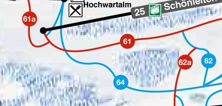 SkiWelt Wilder Kaiser Brixental pistekaart